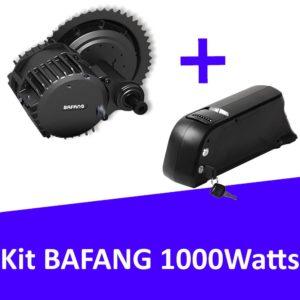 Kit Bafang 1000 Watts avec batterie