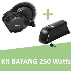 Kit Bafang 250 Watts avec batterie