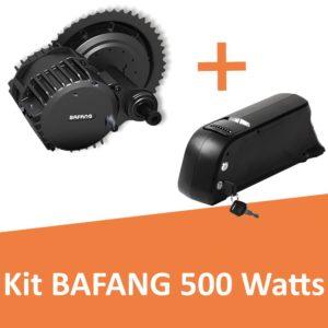 Kit Bafang 500 Watts avec batterie