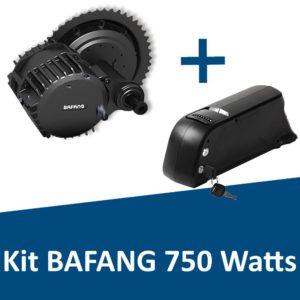 Kit Bafang 750 Watts avec batterie